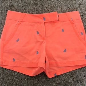 "Bright Orange 3"" Patterned Shorts!"